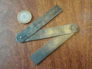 Vintage Rabone No.246 Folding 12 Inch Rule Tool stamped GPO 1938