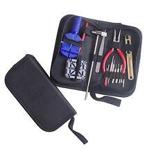 16pc Watch Repair Tools Kit Holder Link Remover Spring Bar Opener Screwdriver