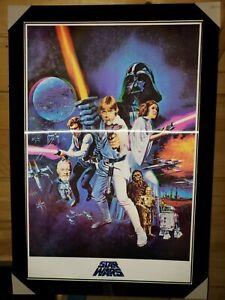 STAR WARS A NEW HOPE 3D LENTICULAR framed poster