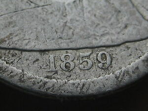 1859-S Seated Liberty Dime- Very Rare Key Date