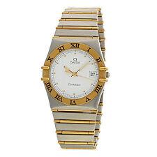 OMEGA Quarz - (Batterie) Armbanduhren mit 12-Stunden-Zifferblatt für Herren