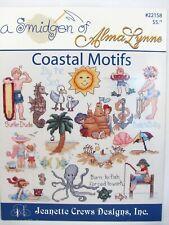 Coastal Motifs Cross Stitch Pattern Booklet A Smidgen of Alma Lynne Beach Ocean
