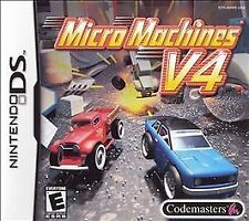 Micro Machines V4 USED SEALED Nintendo DS DSI XL LITE 3 3DS 2 2DS