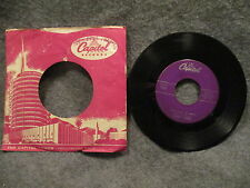"45 RPM 7"" Record Sonny James This Love Of Mine & Pure Love Capitol F4229"