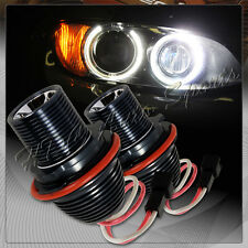 For 2004-2007 BMW E60 5-Series Ultra Bright White LED 10W Angel Eye Halo Bulbs