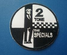 TWO TONE MADSTOCK SKA MUSIC SEW / IRON ON PATCH:- THE SPECIALS (b) 2 TONE