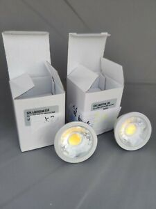 2x MR16 12V LED non dimmable - 6W - Cool White (6000k) - Brand New