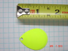 blades yellow/chartreuse colorado blades #5 size cupped