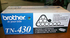 NEW! SEALED! GENUINE! Brother TN-430 Black Toner Cartridge TN430  FAST FREEship!