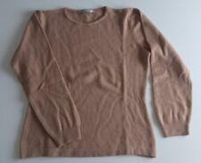 Maglioncino donna, maglione leggero, marrone chiaro, Conbipel tg L
