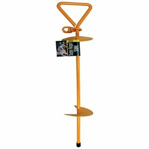 Pdq Super Auger Tie Out Stake