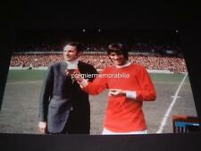 MANCHESTER UNITED FC LEGEND GEORGE BEST 1968 EURO FOOTBALLER OF YEAR PHOTO