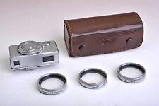 Kodak-Naheinstellgerät mit Parallaxenausgleich, Nahlinsen und Leder-Etui