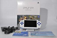 Good SONY PSPJ-30021 PSP 3000 White Blue Newcomer Hunters pack 845058