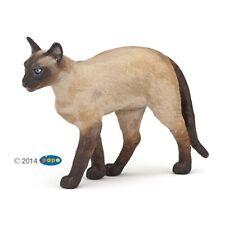 Siamese Cat - Papo (54036): vinyl miniature toy animal figure