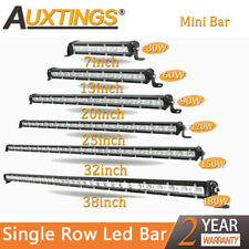 Super Mini  Slim 7'' 13'' 20'' 25''32'' 38'' inch Led Work Light Bar Single Row