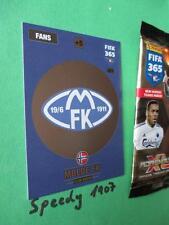 Panini Adrenalyn FIFA 365 NORDIC Edition Wappen Logo Club Badge Molde 221