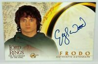 The Lord of The Rings Fellowship LOTR FOTR Elijah Wood Frodo Autograph Auto Card