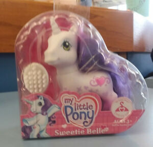 Sweetie Belle Valentine Heart-Shaped Box G3 My Little Pony Dress-Up MIB MIP