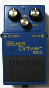 Used Boss BD-2 Blues Driver Effect Pedal