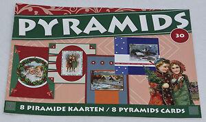 Christmas Mini Pyramid  3d Decoupage Book by Studio Light  book  30 - Sale!