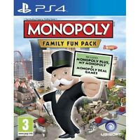 Hasbro Monopoly Family Fun Pack PS4 Game Sony PlayStation 4 PS4 Brand New