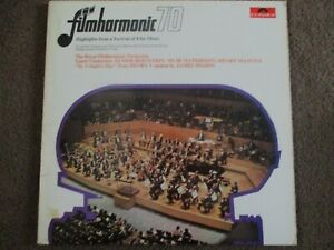 FILMHARMONIC 70: HIGHLIGHTS FROM A FESTIVAL OF FILM - 2xLP - POLYDOR - 2682 020