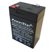 6V 4Ah 4.5Ah 5Ah Emerson NT 1860004 UPS 6V 5Ah Replacement Battery