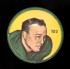 1963 CFL NALLEY'S POTATO FOOTBALL COIN #103 BILL MITCHELL edmonton eskimos EX-NM