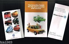 1978 Volkswagen VW RABBIT Brochure: Diesel +................