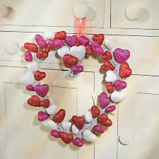 Unbranded Wooden Wreath Day Décor for Valentine