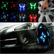 12LED Car Auto Solar Energy Flash Wheel Tire Valve Caps Neon Light For Chrysler