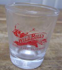 Wild Bills West Buena Park California Dinner Extravaganza Shot Glass Bar Barware