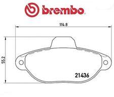 P23096 Kit pastiglie freno, Freno a disco (MARCA-BREMBO)