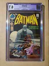 Batman 227 cgc 7.0 (1970) Classic Neal Adams bronze age cover!