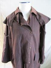 Kiwi Stockman classic long brown waxed cotton barn field country coat XXL