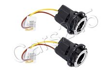 Genuine Headlight Corner Light Bulb Holders PAIR Audi A4 A3 TT RS4 2004-