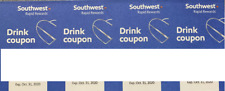 Southwest Airlines 4 Drink Coupons Vouchers Expires October 31 2020 Alcohol Air
