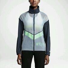 Nike Women's Running Wind Jacket Blue Mint Windrunner Size - XSmall