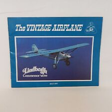 THE VINTAGE AIRPLANE MAGAZINE JULY 1977