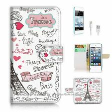 ( For iPod 6 / itouch 6 ) Flip Case Cover! P1780 Paris