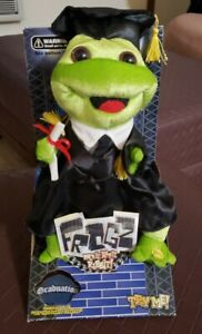 NEW 2007 Gemmy Frogz Graduation Get This Party Started Singing Dancing NIB VTG