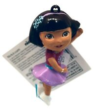 DORA the Explorer-Ice Skating Ornament- By Kurt Adler-Holiday!