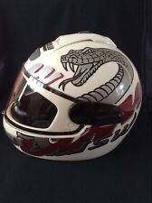 Vintage Nolan N27 Motorcycle Helmet ~ Unused ~ Boxed With Original 1996 Receipt