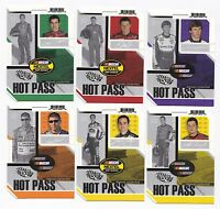 ^2005 Trackside HOT PASS Complete 27 card set BV$30! Gordon, Johnson, Dale Jr.