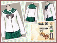 HighSchool of the Dead Miyamoto Rei Cosplay Costume UK