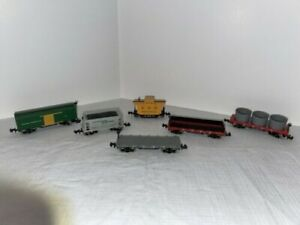 N Scale Assortment Lot of Bachmann and Atlas Box Cars, Used, Great Condition