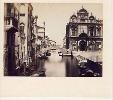 GF050 Venise Venezia grand Hopital Civil albumen vintage print