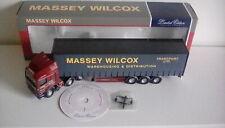 Corgi 1/50 Scale Model Truck 75206 - ERF Curtainside - Massey Wilcox ((A)