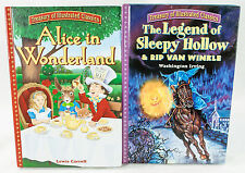 Legend Of Sleepy Hollow & Alice In Wonderland Treasury Of Illustrated Classics